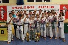 Поздравляем спортсменов федерации киокушинкай каратэ IKO с успешным выступлением на турнирах в Польше