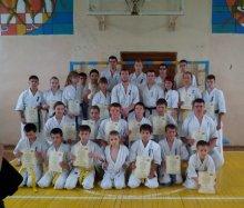 С 30 мая по 1 июня на базе спортивного комплекса Жировичского колледжа прошли сборы по Киокушинкай